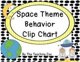 Space Theme Behavior Clip Chart