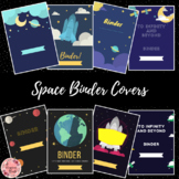 Space Theme Binder Covers - Back to school