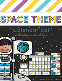 Space Theme - Calendar Set - Classroom Decor