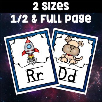 Space Theme Classroom ~ Alphabet