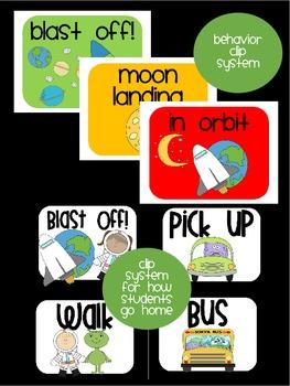 Space Theme Classroom {Decor, Classroom Management, & Resources}