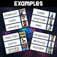 Space Theme Classroom Decor - Schedule Cards