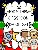 Space Theme Classroom Decor Set