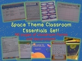 Space Theme Classroom Essentials Teacher Set