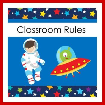 Outer Space Classroom Theme | Outer Space Back to School Theme