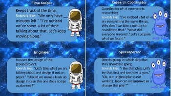 Space Theme Collaborative Group Jobs and Accountable Talk