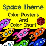 Space Theme - Color Posters and Color Chart