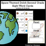 Space Theme Dolch Second Grade Sight Words