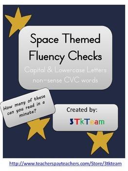 Space Theme Fluency Checks