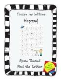 Space Theme- Letter Recognition Center  Jeux  Trouve la lettre - Espace!