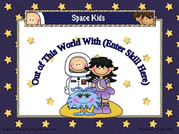 Space Theme PowerPoint Game Template