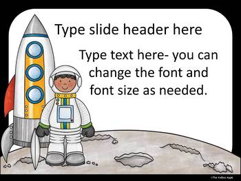 Space Theme PowerPoint Templates