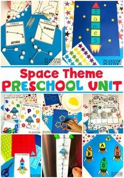 Space Theme Preschool