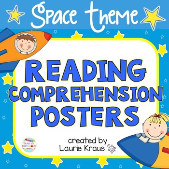 Space Theme Reading Posters