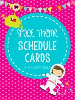 Space & Science Theme Subject Labels