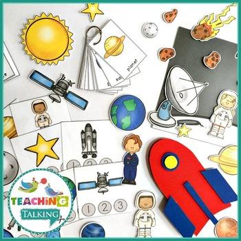 Space Vocabulary Activities