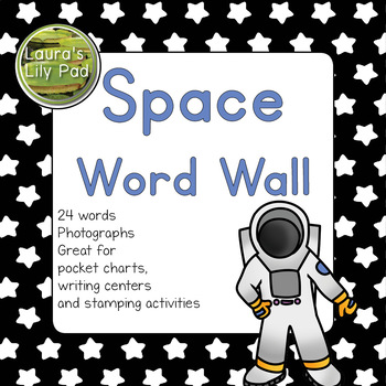 Space Theme Word Wall