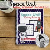 Space Theme Writing Activities Grade 1-4