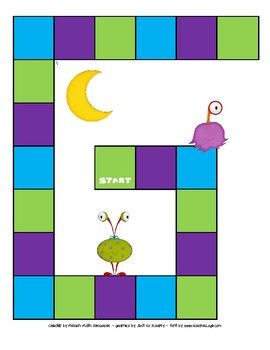 Space-Themed Addition & Subtraction with Regrouping Game Bundle