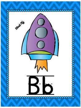 Space Themed Alphabet