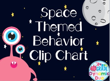 Space Themed Behavior Chart