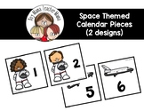 Space Themed Calendar Pieces