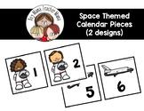 Space Themed Calendar Pieces