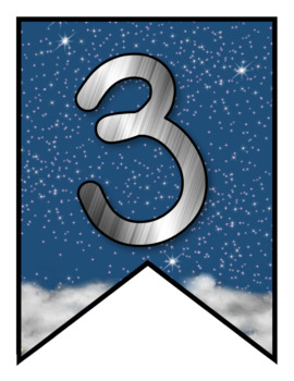 Space Themed Classroom Banner Set