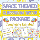 Space Themed Classroom Decor / Decoration - Big Packet!