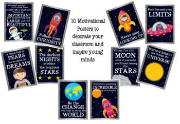 Space Themed Classroom Decor - MEGA BUNDLE - Outta this World