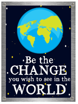 Space Themed Classroom Decor - Motivational Posters -  Outta this world