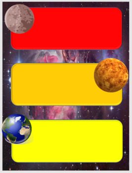 Space Themed Classroom Jobs
