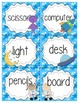 Space Themed Classroom Labels
