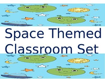 Space Themed Classroom Set