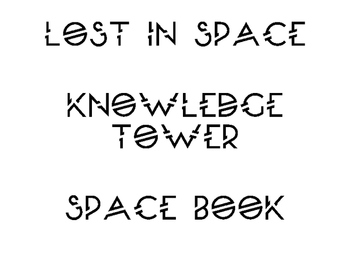 Space Themed Classroom Titles