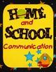 Space Themed Communication/Homework Folder