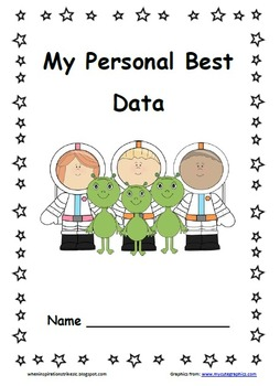 Space Themed Data Pack/Folder/Notebook/Binder for each Kinder's Personal Best