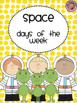 Space Themed Days of the Week