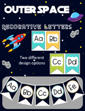 Space Themed Decorative Letters