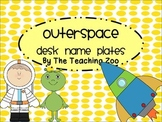 Space Themed Desk Name Plates