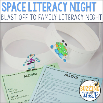 Space Themed Family Literacy Night: Blast Off To Family Literacy Night!