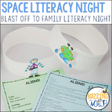 Space Themed Family Literacy Night: Blast Off To Family Li