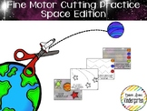 Space Themed Fine-Motor Practice for Cutting / Tracing