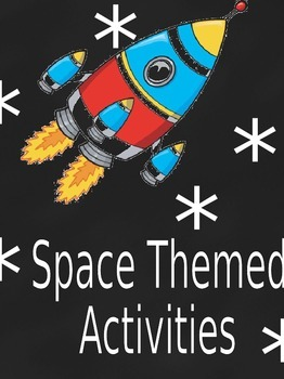 Space Themed Games and Learning Center Activities