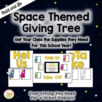 "Space Themed ""Giving Tree""/ Wish List Donations"