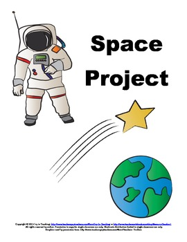 Space Themed Language Arts Projects for Homework/Classwork
