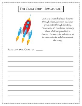 Space Themed Literature Circles