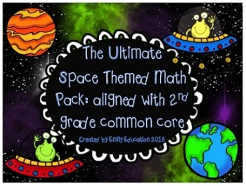 Space Themed Math Centers: Common Core Aligned Place Value,addition, subtraction