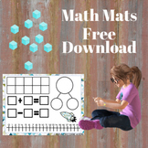 Space Themed Math Mats Free