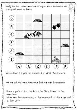 Space Themed Maths Assessment Task (UK version)
